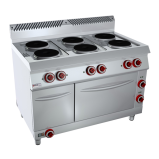 Bếp Nấu điện 6 Họng Có Lò Nướng Và Tủ Nóng OFFCAR