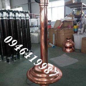 ống Hút Cứng Màu đồng
